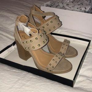 Qupid heeled sandals